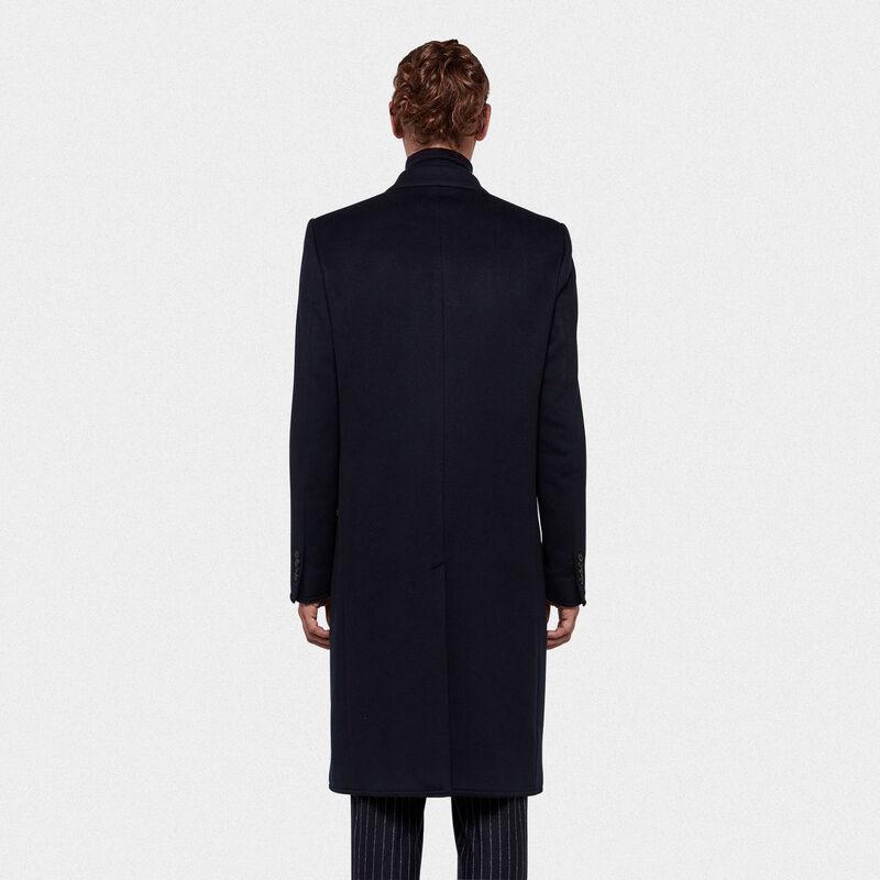 Golden Goose - Cappotto doppiopetto Yukio in misto lana  in  image number null
