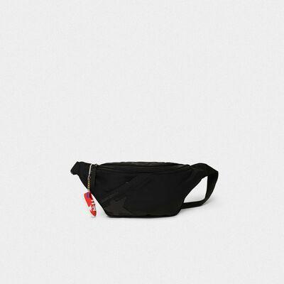 Black nylon Journey belt bag