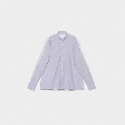Yuji shirt in cotton poplin