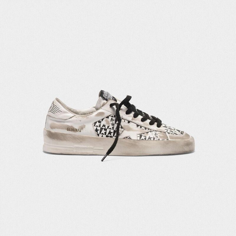 Golden Goose - Stardan LTD sneakers with checkerboard stars in  image number null