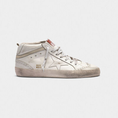 Mid Star sneakers in leather