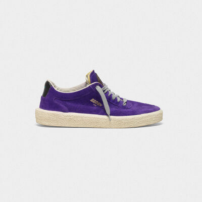 Tenthstar sneakers in suede with terry tongue