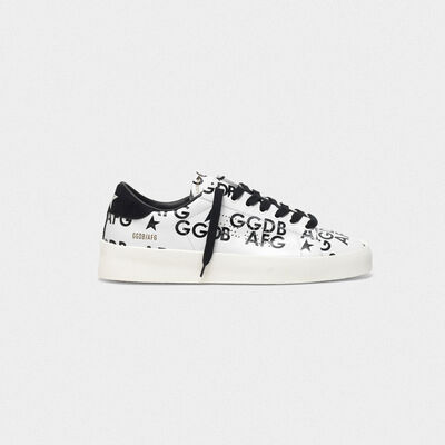 Sneakers High End con stampa all-over