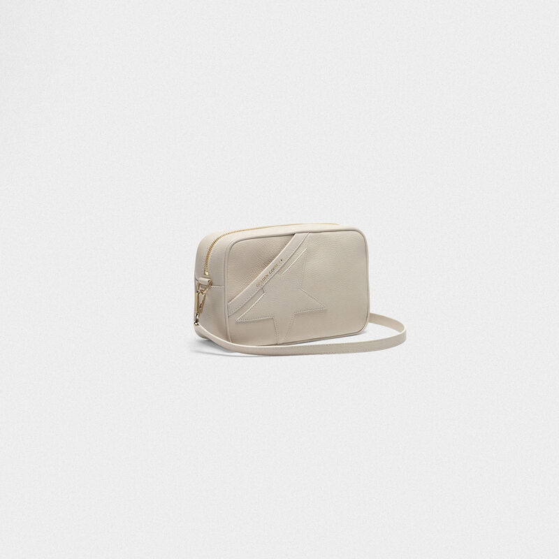 Golden Goose - Star Bag with shoulder strap made of pebbled leather  in  image number null