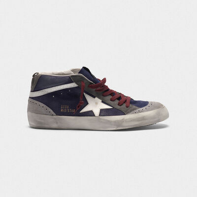 Mid Star sneakers in nubuck with suede inserts