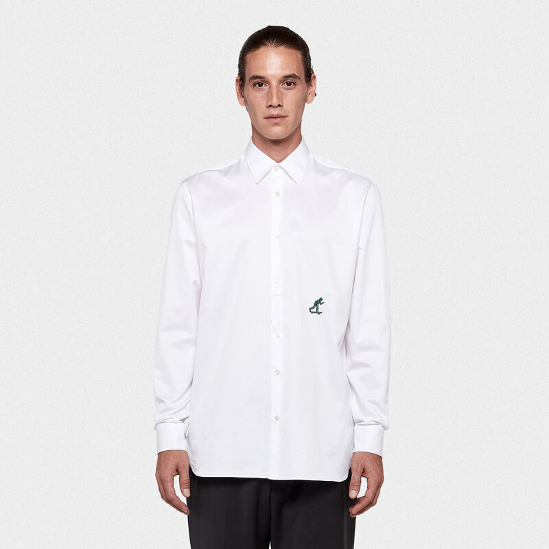 Golden Goose - Satoru shirt in cotton twill in  image number null