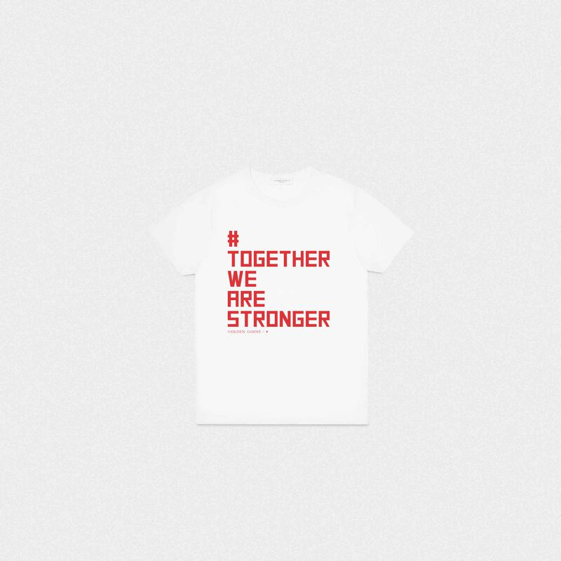 Golden Goose - #TogetherWeAreStronger T-shirt in  image number null