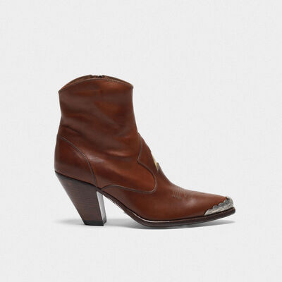 Nora leather ankle boots