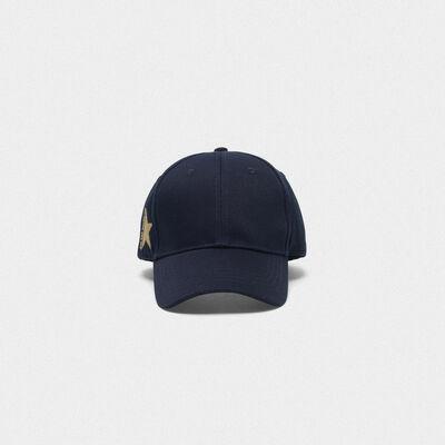 Aki baseball cap in cotton drill