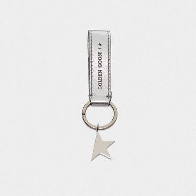 Silver Star Keyring