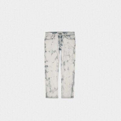 Amy boyfriend jeans in denim with spots