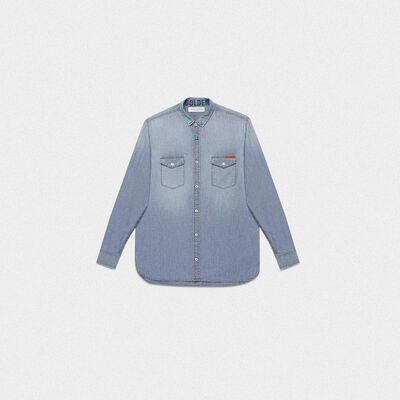 Austin shirt in cotton denim