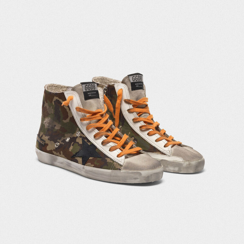 Golden Goose - Francy sneakers with pixel camouflage pattern in  image number null