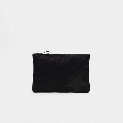 Large black nylon Journey pouch