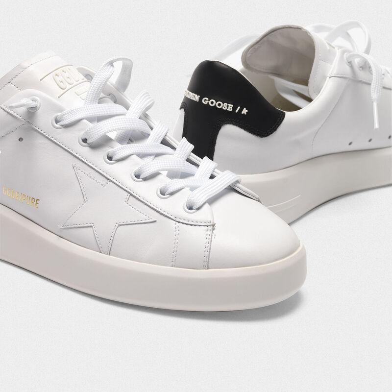 Golden Goose - Sneakers PURESTAR talloncino nero in  image number null