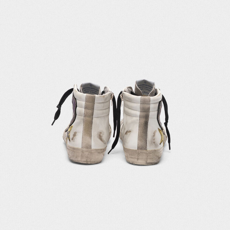Golden Goose - Sneakers Slide con logo in stampa serpente in  image number null
