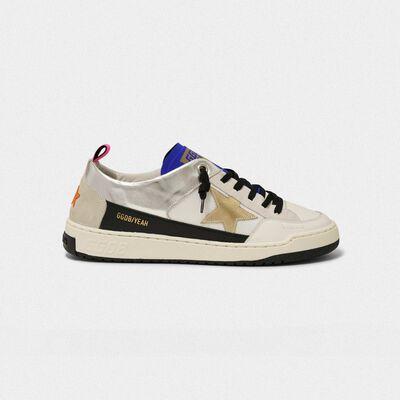 Sneakers Yeah! bianche con stella dorata