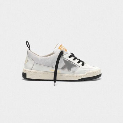 White Yeah! sneakers with silver star
