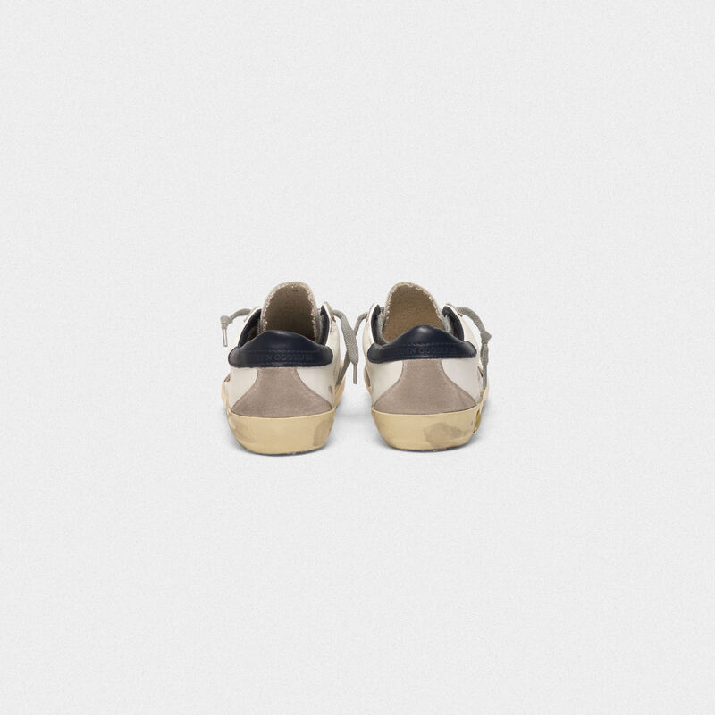 Golden Goose - Sneakers Superstar con stella in camoscio in  image number null