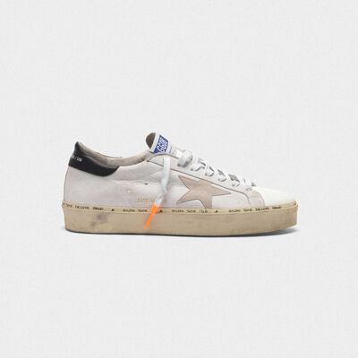 Hi-Star sneakers with nubuck inserts and dipped laces