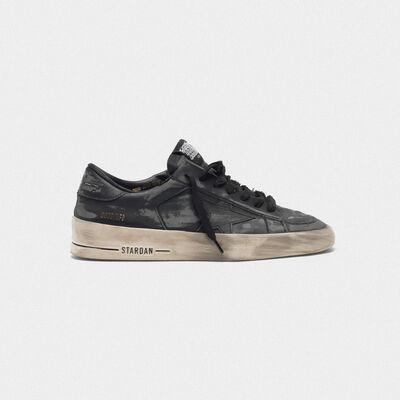 Sneakers Stardan LTD total-black in pelle