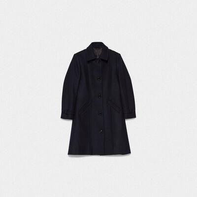 Cappotto Naomi in lana vergine e nylon