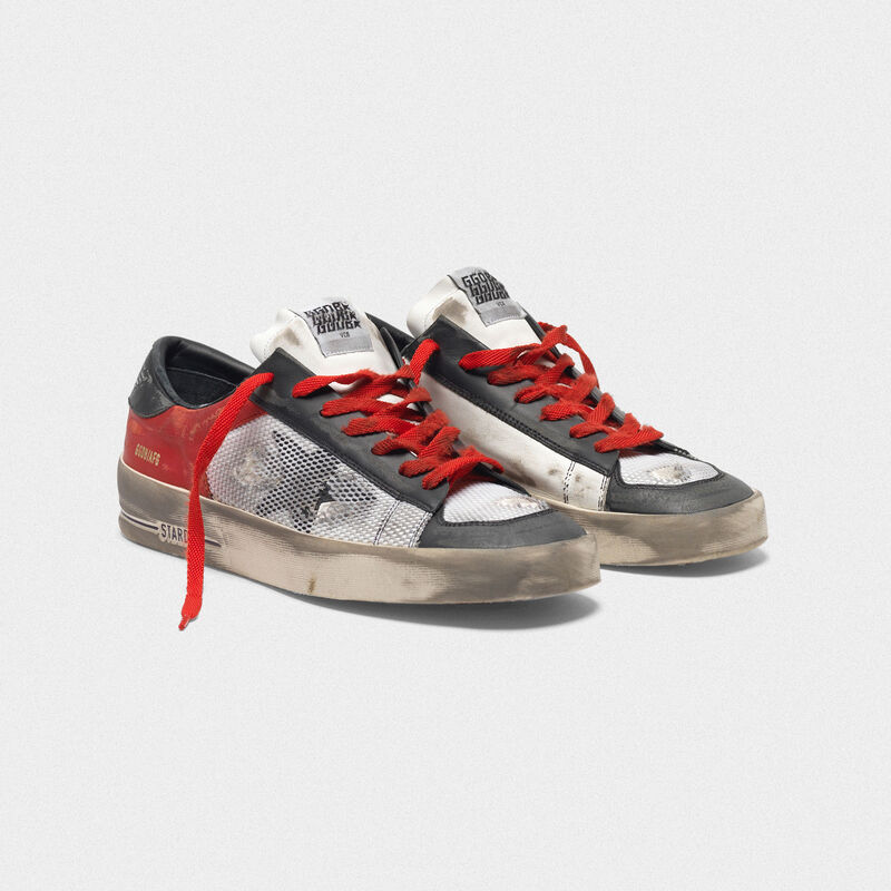 Golden Goose - Sneakers Stardan LTD in pelle con inserti in mesh in  image number null