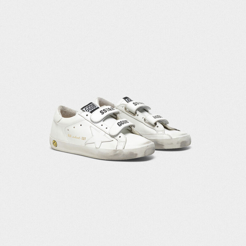 Golden Goose - Old School sneakers with velcro closure in  image number null