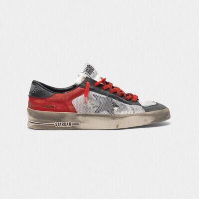 Sneakers Stardan LTD in pelle con inserti in mesh