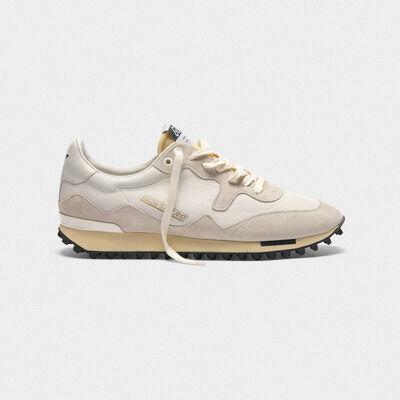 Sneakers Starland in pelle con inserti in camoscio