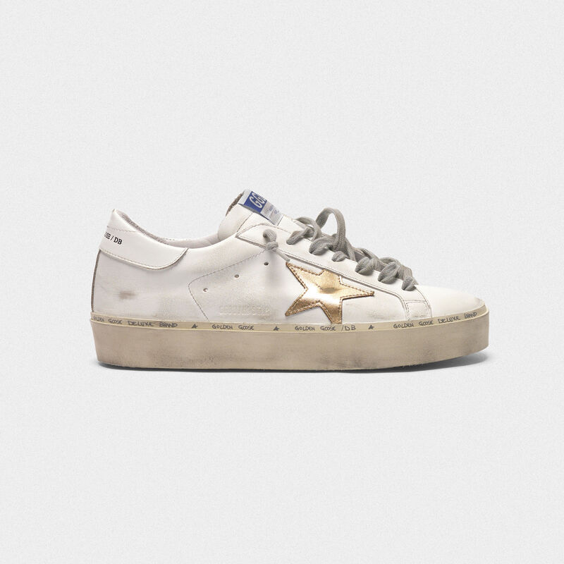 179d5d00e4 Hi Star sneakers in leather with gold star