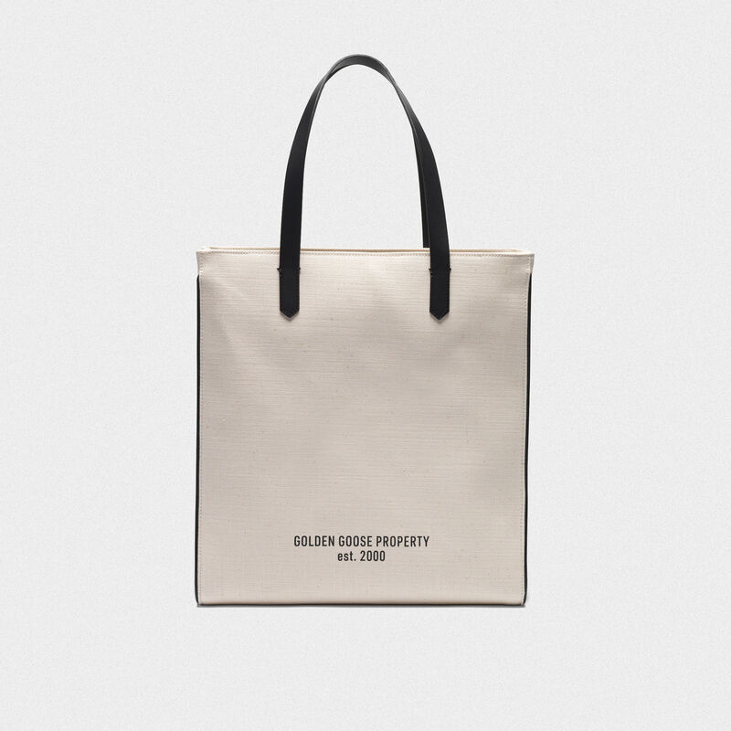 "Golden Goose - ""Golden Property"" North-South California Bag in  image number null"