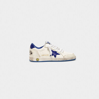 Sneakers Ball Star in pelle con stella scamosciata