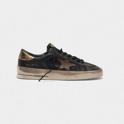 Sneakers Stardan in pelle con inserti in mesh