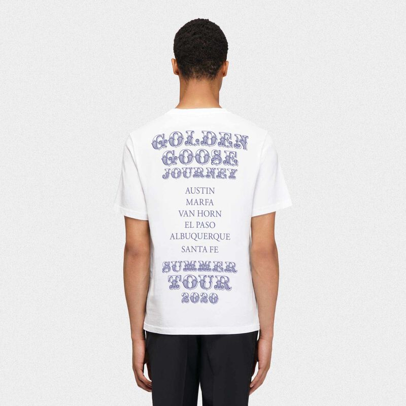 Golden Goose - T-shirt Texas Travel Guide in  image number null