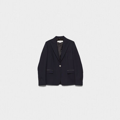 Venice slim-fit single-breasted jacket