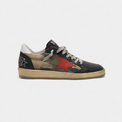 Sneakers Ball Star con stampa camouflage
