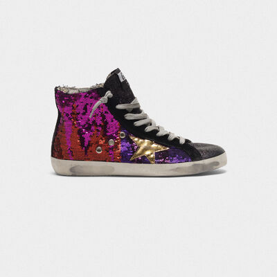 Francy sneakers with sequins