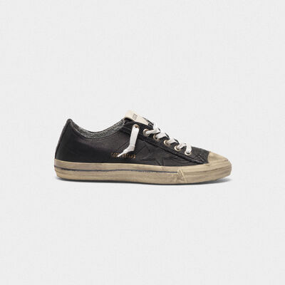 V-STAR sneakers in vintage-effect leather