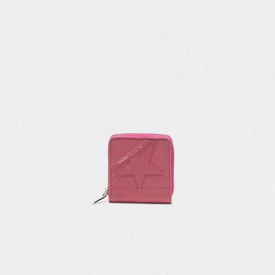Medium pink Star Wallet