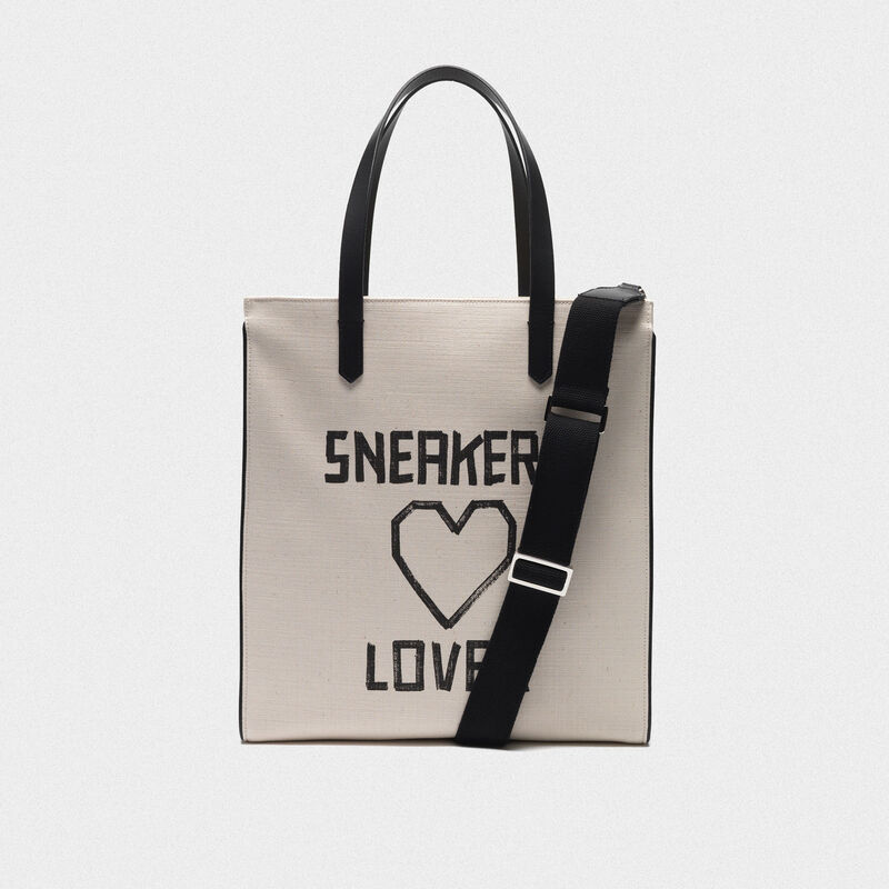"Golden Goose - Borsa California North-South ""Sneakers Lovers"" in  image number null"