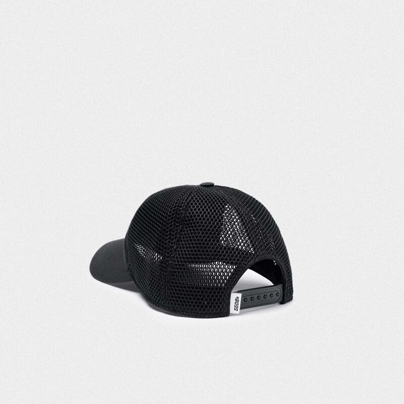 Golden Goose - Sam baseball cap with Love embroidery in  image number null