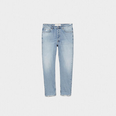 Happy slim fit jeans with decorative studs
