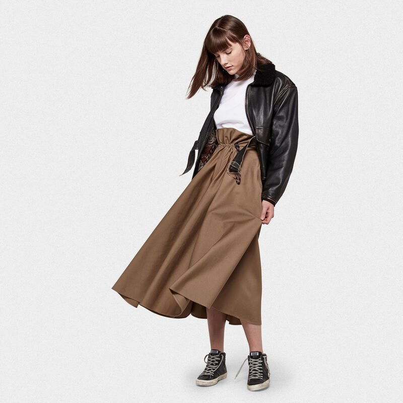 Golden Goose - Bomber Erika in nappa effetto vintage in  image number null