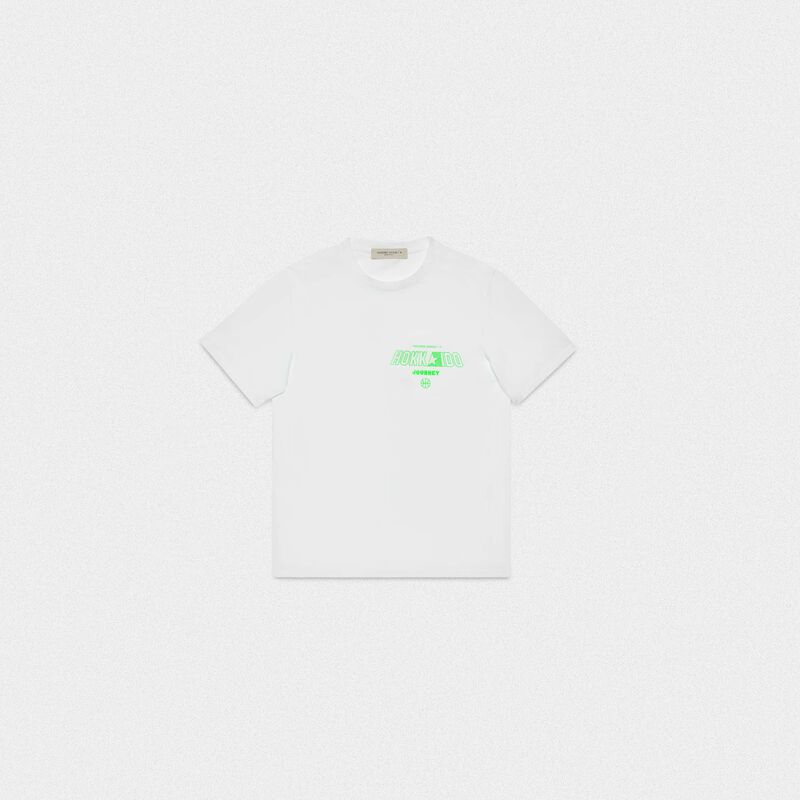 Golden Goose - Hokkaido Travel Guide T-shirt in  image number null