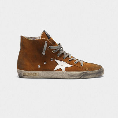 Francy sneakers in suede with contrast star