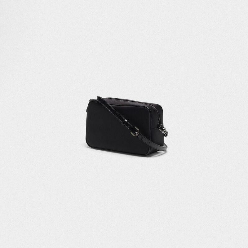 Golden Goose - Borsa Star Bag nera con cristalli in  image number null