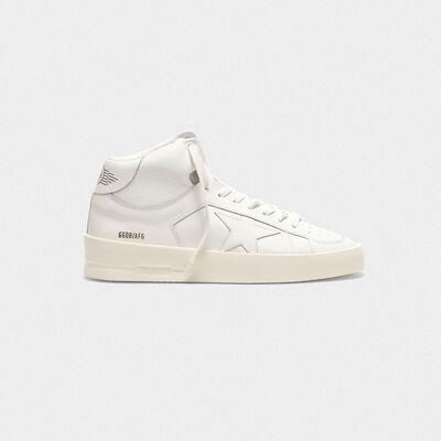 Sneakers Mid-Star con dettagli dipinti a mano