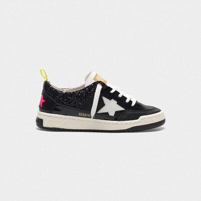 Black Yeah! sneakers with white star