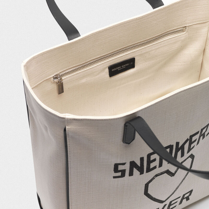 """Golden Goose - """"Sneakers Lovers"""" North-South California Bag in  image number null"""
